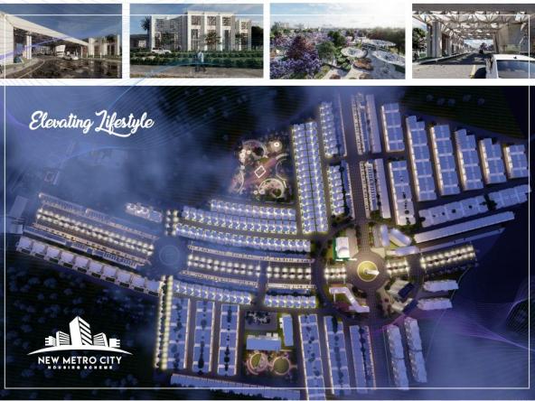 new metro city Jhelum view