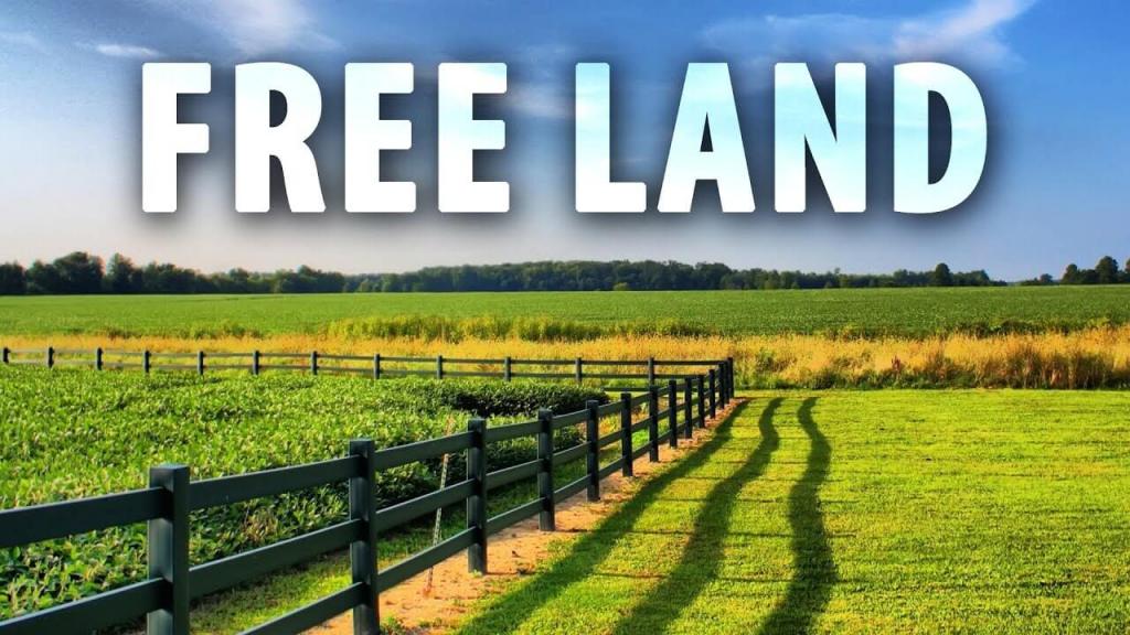 Free land for farming